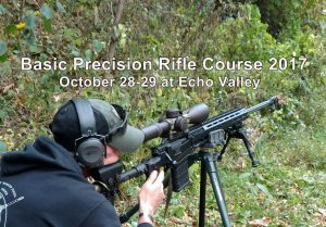 Basic Precision Rifle Course 2017 @ ECHO VALLEY TRAINING CENTER, HIGH VIEW, WEST VIRGINIA | High View | West Virginia | United States