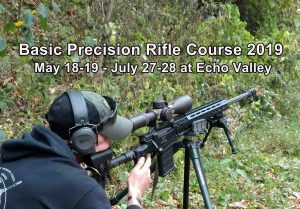 Basic Precision Rifle Course @ ECHO VALLEY TRAINING CENTER, HIGH VIEW, WEST VIRGINIA | High View | West Virginia | United States