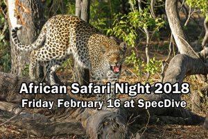 African Safari Night 2018 @ SpecDive Tactical   Alexandria   Virginia   United States